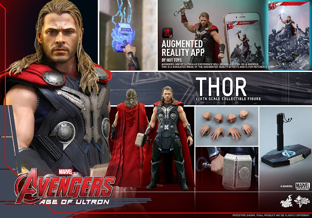 Action Figure Thor Avengers Age of Ultron from Hot Toys