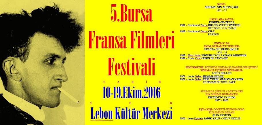 1.Bursa Fransa Filmleri Festivali