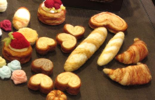 Les pâtisseries de Rio Fukuda - aiguille en fête 2013