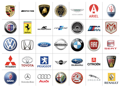 Red Automotive Logos