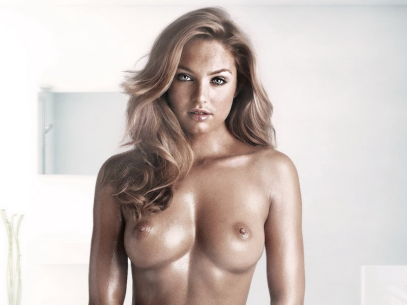 Victorias Secret model Edita Vilkeviciute strips nude to