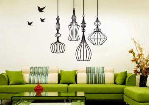 Best Green Decorate the Wall
