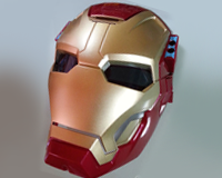 Iron Man 3 Arc FX Mask