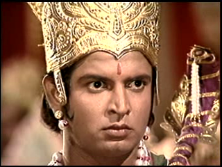 Shri ram tries to tell him that if anyone can break the shivadhanush