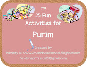 25 Fun Activities for Purim!