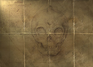 Skull Drawing From Mermaids The Body Found on Animal Planet