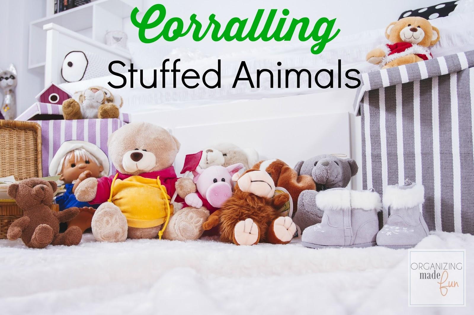Amazon.com: Stuffed Animal Storage Bean Bag Chair   Premium Canvas Storage  Solution For Plush Toys (Gray)   By avaci: Kitchen & Dining