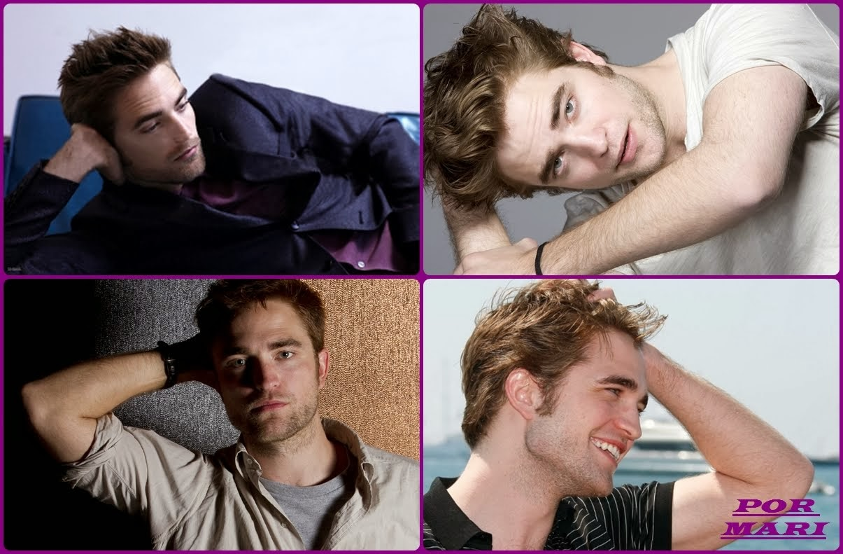*ROBERT  PATTINSON  POSANDO *