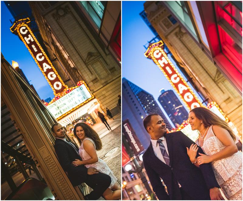 Chicago Theatre Night Creative Engagement Photo