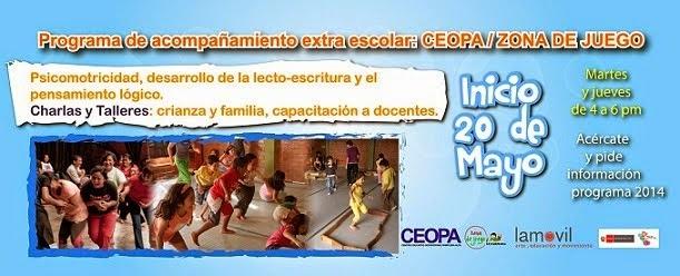 PROGRAMA DE ACOMPAÑAMIENTO EXTRA ESCOLAR CEOPA - ZONA DE JUEGO