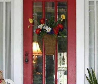Fotos y dise os de puertas julio 2012 for Pintura para puerta de madera exterior