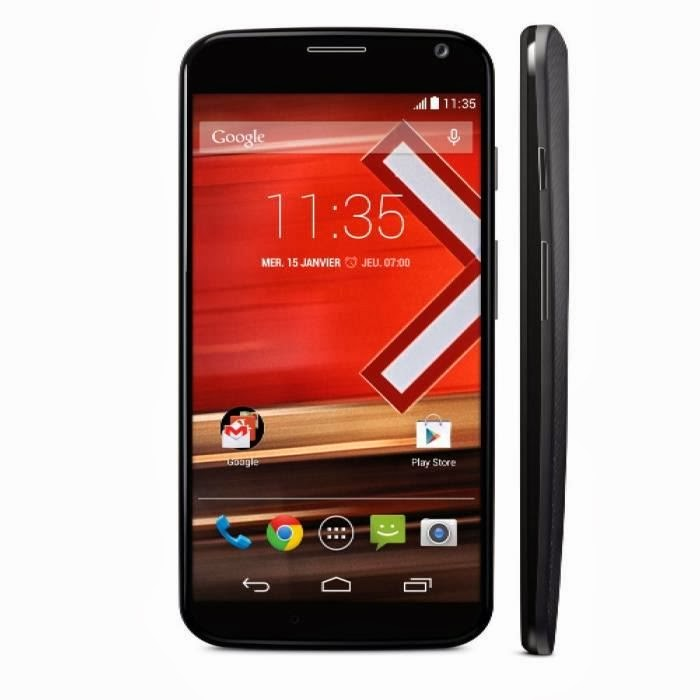 Moto X Motorola smartphone 4G Noir comparatif
