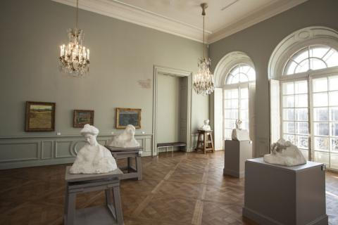 the restoration of the rodin museum nears completion. Black Bedroom Furniture Sets. Home Design Ideas