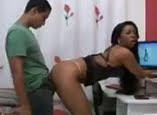 Sexo anal com morena brasileira