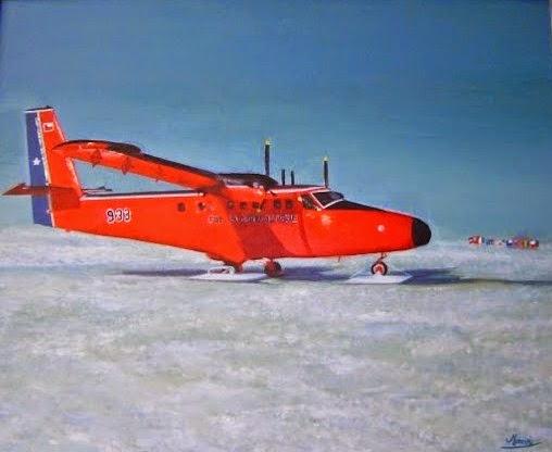 Vuelo en twin otter al Polo Sur