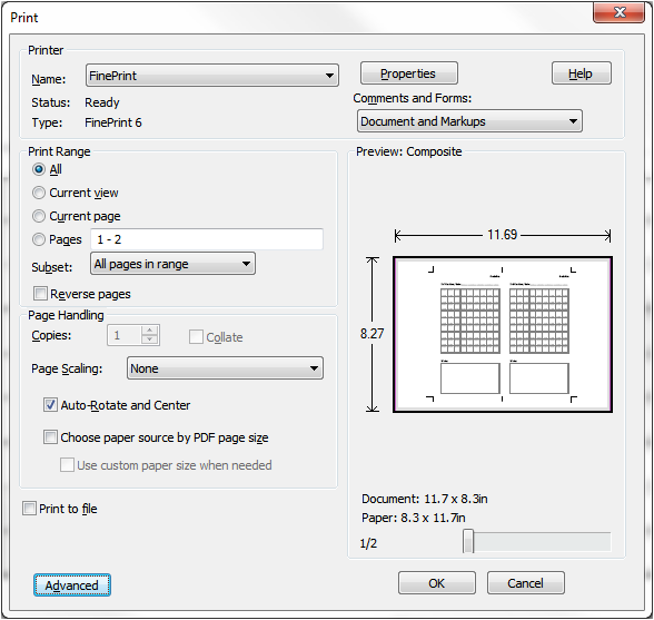 how to cut one page from adobe reader