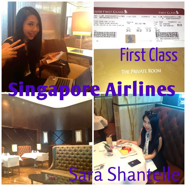 Singapore Airlines First Class Travel to San Francisco