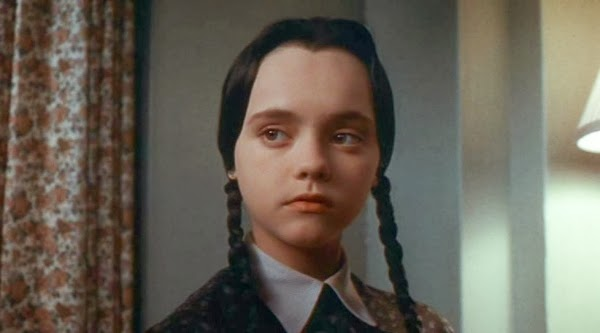 Addams Family Values, official movie, Wednesday Addams, face shot, Christina Ricci