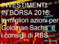investimenti in borsa nel 2016, le migliori azioni