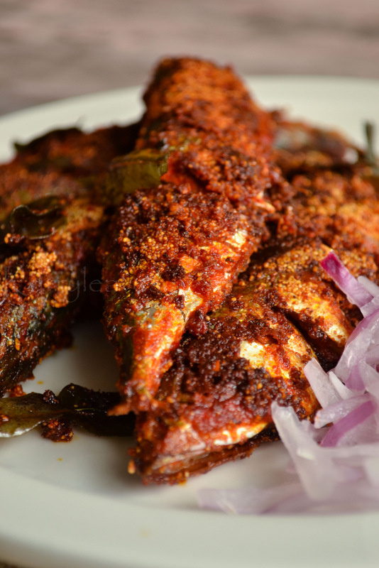 ... Style Mackerel Fry | Bangada Fry | Rava Fish Fry | kurryleaves