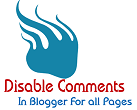 How to Turn Off or Disable Comments on Blogger Pages & Post