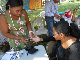 APEDF held a Health Fair at our Philadelphia Uhuru Flea Market  in October