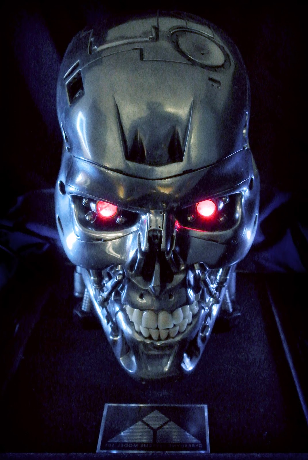 T800-101  Buildi...T 800 Terminator Skull