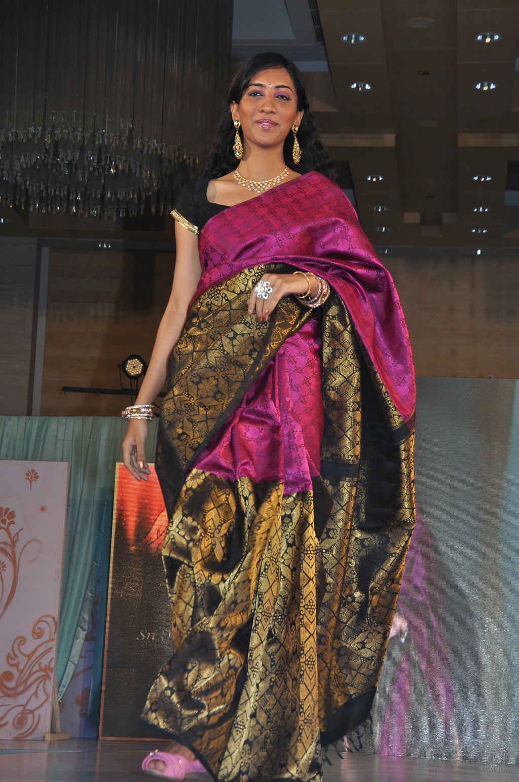 Silk Sari Designs Stills