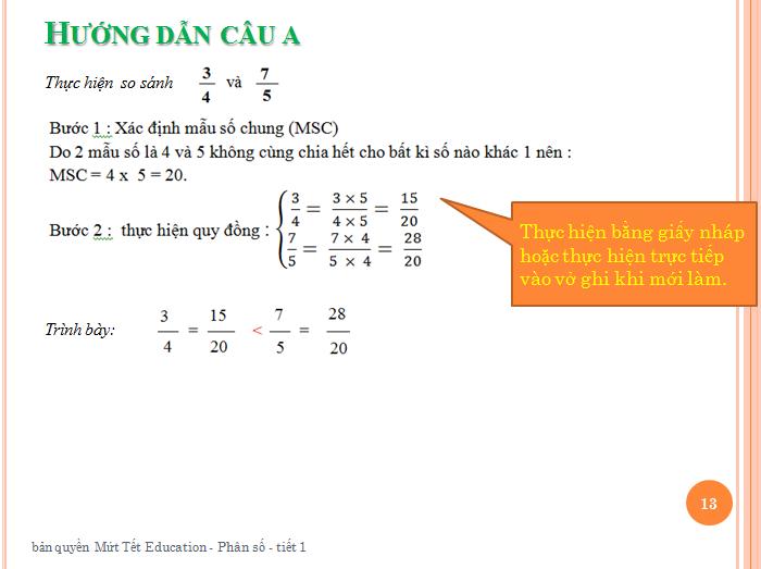 Bài tập phân số toán lớp 5 - rút gọn phân số(13)