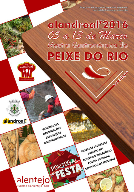 MOSTRA GASTRONÓMICA DO PEIXE DO RIO - ALANDROAL.
