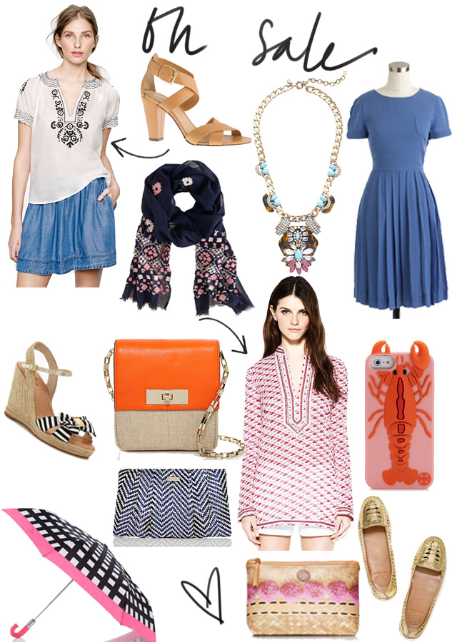 Summer deals from J.Crew, Kate Spade, and Tory Burch