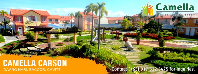 Community Overview - Camella Carson | House and Lot for Sale in the Philippines