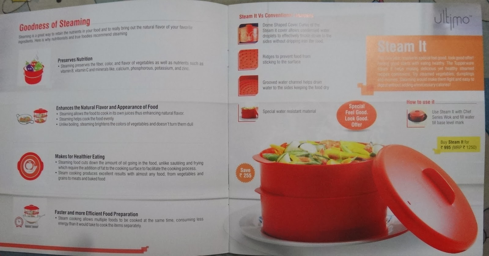 Tupperware Hyderabad January 2014 Consumer Flyer