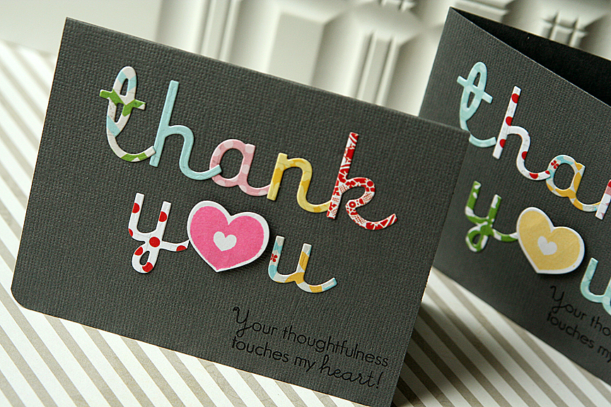 You can never have enough thank you cards handy