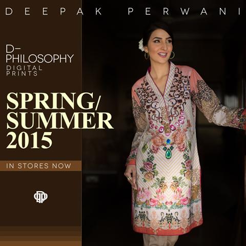 Deepak Perwani Spring Summer Collection 2015