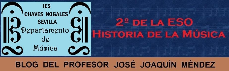 2º de ESO - Historia de la Música
