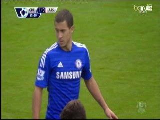 اهداف مباراة  تشيلسي  و آرسنال  2-0 الدورى الانجليزى - 5-10-2014 Chelsea vs Arsenal goals