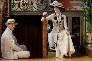Lord and Lady Grantham in Downton Abbey