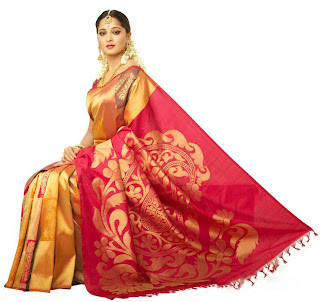 Anushka Shetty in Silk Sarees - Wedding Sarees Bridal Sarees