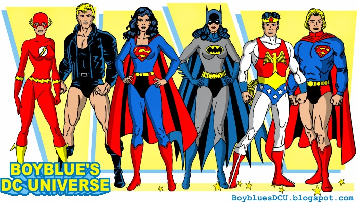 Batwoman Superwoman Superwoman Batwoman