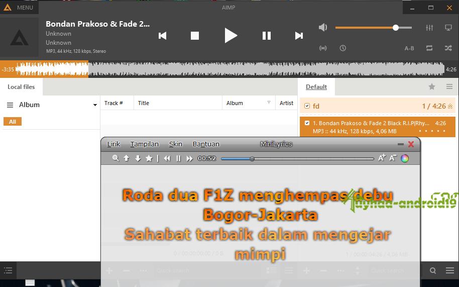 MiniLyrics for Windows