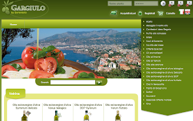 Online store for Sorrento Olive Oil Specialties