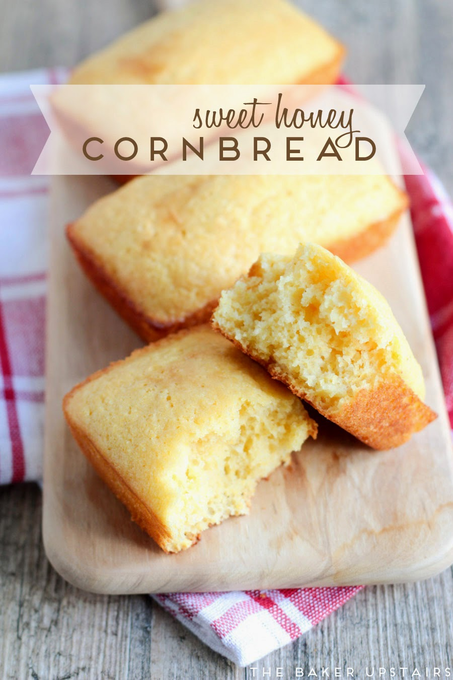 the baker upstairs: sweet honey cornbread