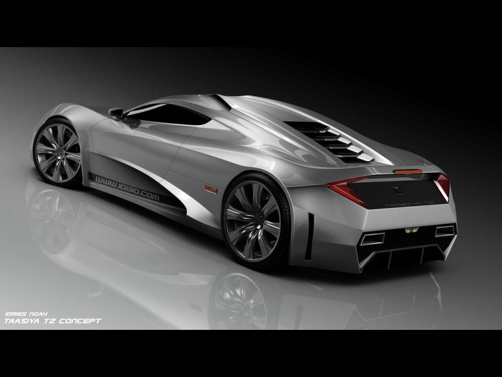 T2 Concept The Future Hydbrid Supercar 2010