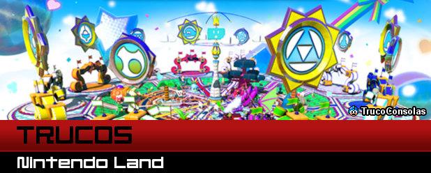 Trucos Nintendo Land - Wii U