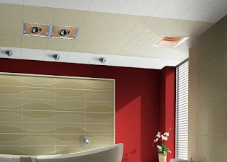 picture of beautiful Ceiling Mounted Bathroom Exhaust Fan