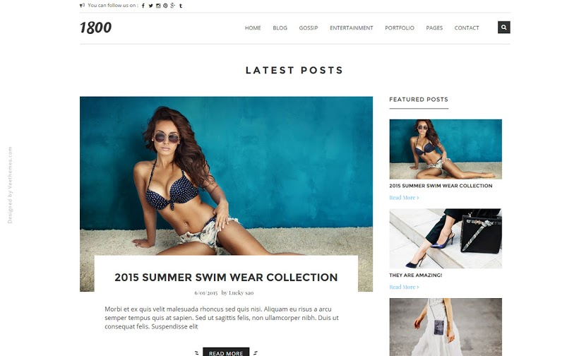 44 best free responsive blogger templates eyeobserver 1800 outfit of the day ootd blogger template pronofoot35fo Choice Image