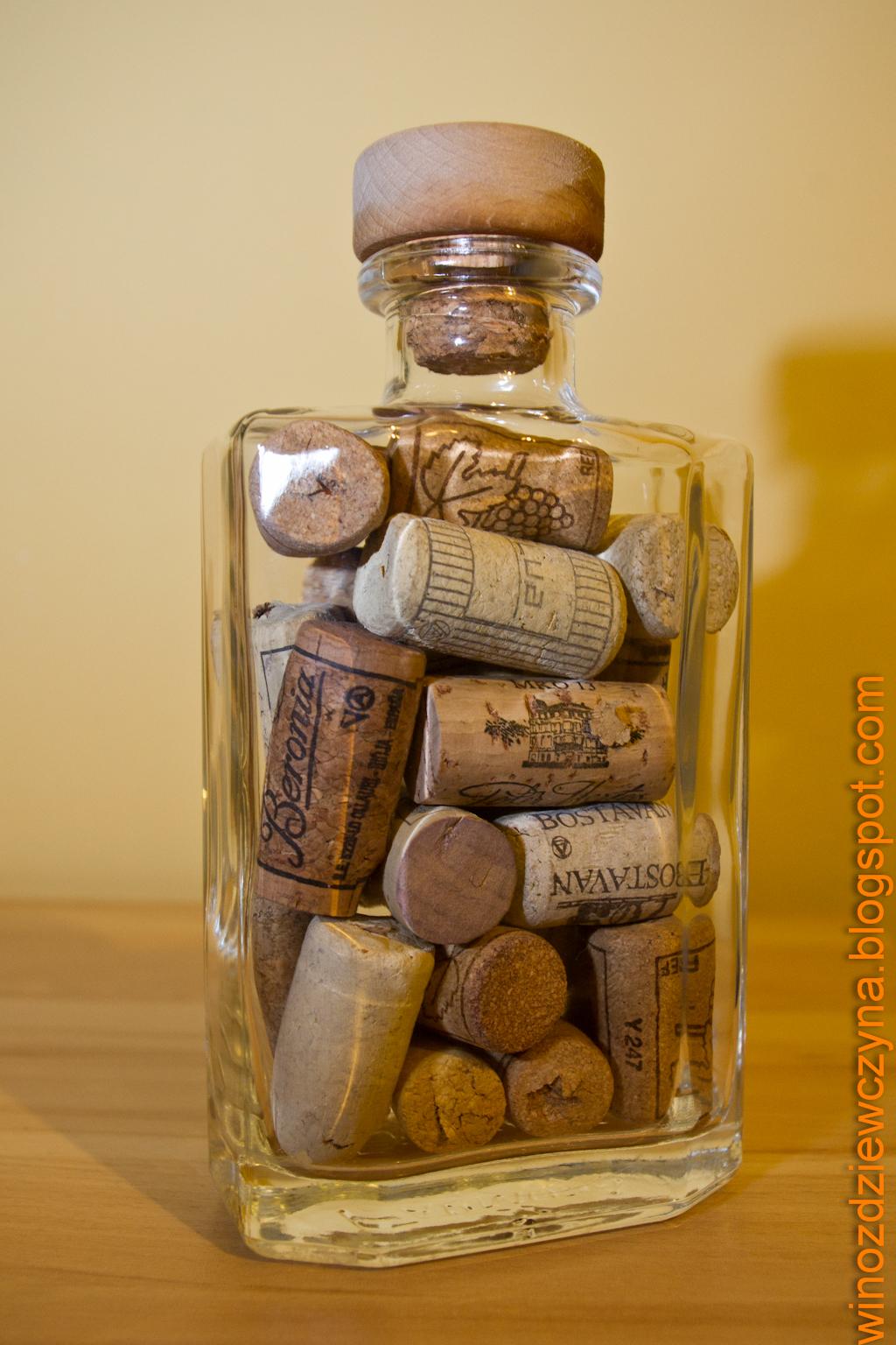 Dekoracja z korków po winie