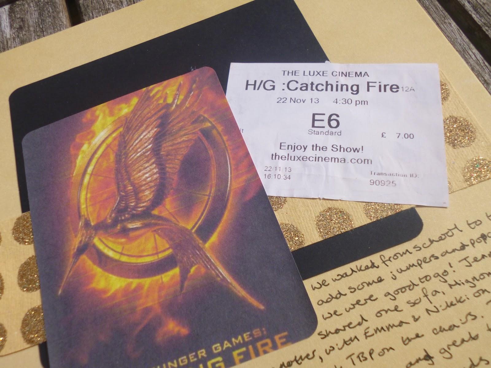 Catching fire essay
