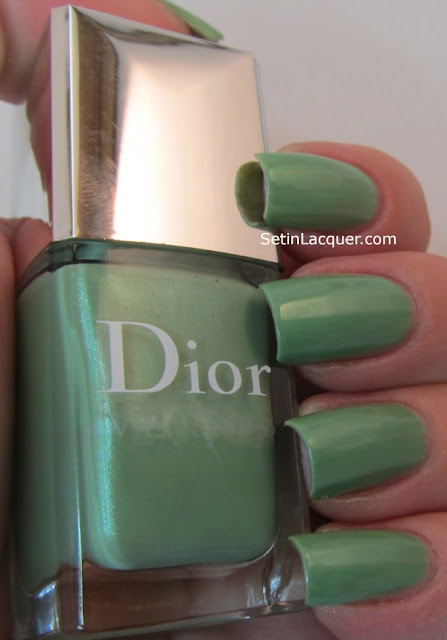 Dior Water Lily Swatches